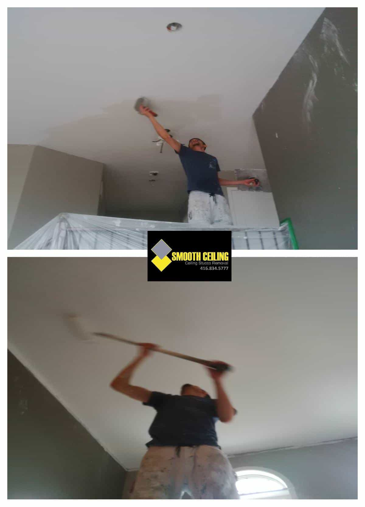 Ceiling preparation