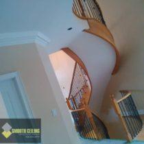 Trim Stairs & Stucco NIce