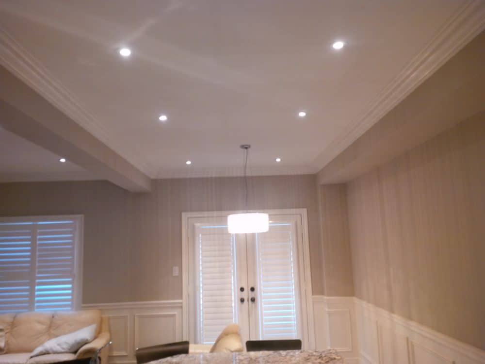 great room division and lighting