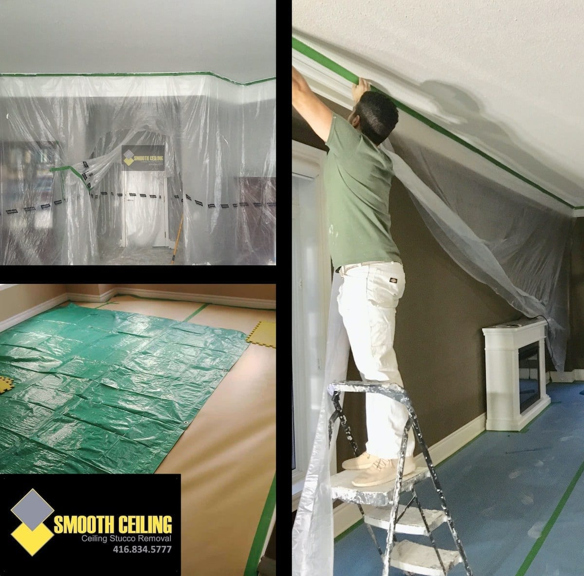The Smooth Ceiling Process